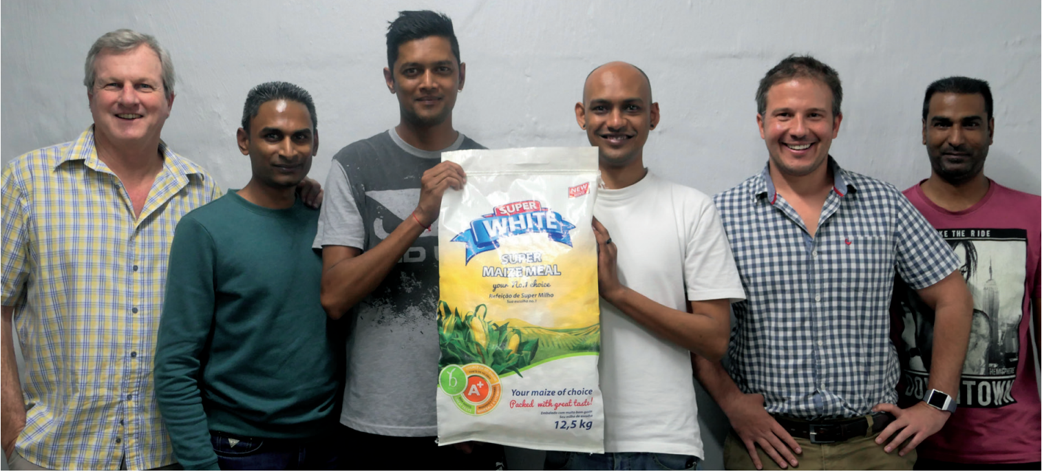 The Repro Flex team who worked on the winning entry: Craig Oliver, Prevern Nayager, Vikash Sahadeo, Manjeet Ramlagan, Jamie O'Neill and Roland Naidoo.